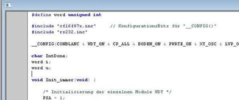 Textprogrammierung, RealtimeOS für sehr leistungsfähige Systeme