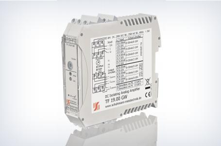 Einstellbarer Trennverstärker TF 19.00 GW | Schuhmann Messtechnik